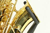 ألتو ساكسفون ياناجيساوا W01 e شقة انب توى النحاس الآلات الموسيقية الذهب ورنيش سيكس مع الملحقات حالة اللسان