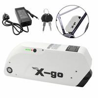 X-go de litio Li-on de 48 voltios de la batería 12.5Ah 1000W 750W 500W E Bicicleta USB recargable Batería para bicicleta eléctrica