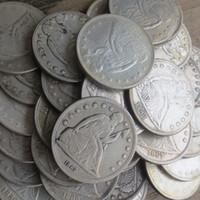 Ganz Reihe von (1840-1873) -P-S-O-CC 46PCS Seated Liberty Dollar Silber plattiert kopieren Münzen