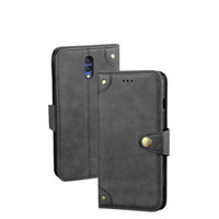 YLYH Tpu Silicone Protect Business Leather Rubber Gel Cover Phone Case For Alcatel 3C 3L 3V 3X 5V Retro Style Buckch Shell Wift Etui Skin