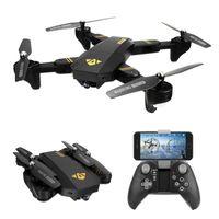 XS809W Quadcopter Aircraft Wifi FPV 2.4G 4CH 6 Ось Altitude Функция RC Drone с 720P HD 2МП камера RC игрушки Складная Drone