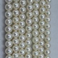 40 cm uzunluk Bir iplikçik Gevşek Boncuk beyaz kültürlü yuvarlak tatlısu inci DIY takı yapımı için gevşek boncuk