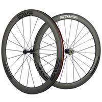 한 쌍의 자전거 탄소 바퀴 50mm 현무암 브레이크 표면 바퀴 탄소 도로 자전거 휠 세트와 R13 허브