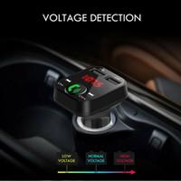 Автомобильный комплект громкой связи Беспроводной Bluetooth FM передатчик ЖК MP3 плеер USB зарядное устройство