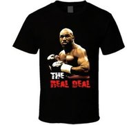 Evander Holyfield Real Deal Boxing T Shirt
