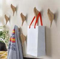 Творческий дом метопа птица украшения животных крюк стены выступать роль двери спальни после подвешивания крючок для одежды стерео один крюк