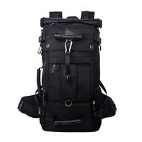 Sırt çantası için inç lato çantası Çok fonksiyonlu çanta Yürüyüş Kampı 17 Su Geçirmez Sırt Çantası Seyahat Büyük Çanta Sırt Çantası Okul Laptop Sırt Çantası KIMR