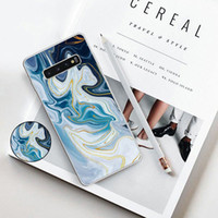 Marble Phone Case For Samsung Note10 Plus S10 5G S10e S10 Pl...