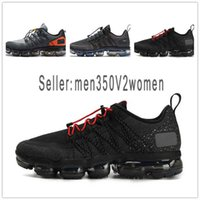 Designer men's shoes Nike vapormax women De calidad superior Run Utility Black Reflect Silver Men Running Shoes Triple White Medium Olive Men Designer Shoes Sports Sneakers