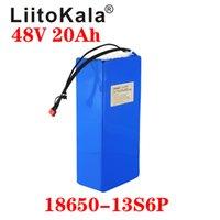 LIITOKALA 48V 20AH 13S6P Battery batteria al litio 1000W Batteria per bicicletta elettrica integrata 20A BMS