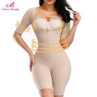 Full Body taille Entraîneur Minceur Shaper bras jambe Tummy Culotte buste Contrôle Push Up amincissants Butt Lifter Bodysuit T200526