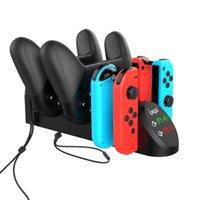 PG-9187 6 1 Platform Nintendo için Nintend Anahtarı Joy-Con Pro Base Fit Şarj Standı Pro Gamepad Şarj Standı geçiş