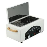 300W ad alta temperatura sterilizzatore UV di sicurezza di arte del chiodo sterilizzatore Box con aria calda Disinfezione Gabinetto di arte del chiodo Apparecchiatura