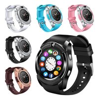 V8 Smart Watch Bluetooth Smartwatch Support SIM TF Card With...