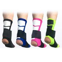 Anti Entorse Sports Suporte tornozelo Equipamentos de Proteção Basketball tornozelo Protector respirável Twine bandage ZZA634