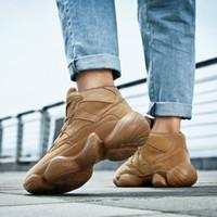 Scarpe casual in pelle da uomo Brand Alta qualità Tutta la moda nera Sneakers traspirante Sneakers Fashion Flats Big Plus Size 40-46 * G12