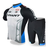 2020 nuevo gigante ciclismo jersey hombres transpirable bicicleta manga corta tops pantalones cortos traje trajes de bicicleta de carretera Outseoor Sportswear K20042006