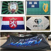 -Flagge irgendeine Größe Kleine Big Groß Riesig Riesen Fliegen hängend Polyester Kundenspezifisches Logo Fahnen zum Verkauf Drucken
