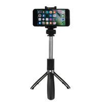 Yunteng YT-9928 الأيلول Selfie Stick Tripod Bluetooth Remote Libled Monopod حامل لفون 7/8 / x لسامسونج الهواتف الذكية قوية
