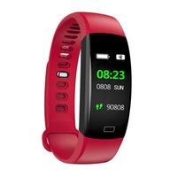 F64HR مراقبة أكسجين الدم سوار ذكي ضغط الدم ... ... مراقبةمقياساللياقةمتعقبالرياضي ساعة لياقة اليد ل أندرويد iPhone