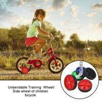 1 مجموعة دراجة العجلات الدوارة مثبت دراجات التدريب المثبتات الرول دراجات دراجات اكسسوارات Kickstand لمدة الاطفال