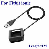 Fitbit Ionic 1 M USB Şarj Dock Cradle Fastbit Akıllı İzle için Hızlı Şarj Kablosu Değiştirme En Kaliteli