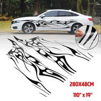280x48cm Calcomanía del coche Pegatina Cubierta de vinilo Pegatinas Decorativo Vendaje Impermeable Universal