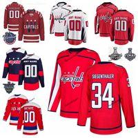 New Arrival. 2018 Stanley Cup Final Washington Capitals Stadium Series Jonas  Siegenthaler Hockey Jerseys 34 ... 28db2c14a