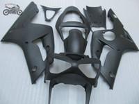 Инъекции обтекатели комплект для Kawasaki Ninja 2003 2004 ZX6R 03 04 ZX6R ZX636 ZX 6R 636 матовых черного китайского мотоцикла обтекателя обвеса