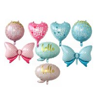 Baby Shower Foil Balloons Baby Girl Boy It' s a Girl It&...