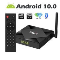 Tanix TX6S 안드로이드 10.0 OTT TV 박스 4기가바이트 + 32기가바이트 / 64기가바이트 롬 Allwinner H616 듀얼 무선 2.4G + 세대와 BT 스마트 TV 박스