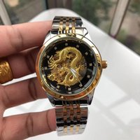 mens designer watches Luxury Carving Chinese dragon 42mm dia...