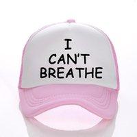 Ben Şapka Unisex Beyzbol şapkası Siyah Hayatlar Matter Parade Harf Baskı şapkalar Erkekler Kadınlar Partisi Şapkalar GGA3463-3 Caps Breathe Can not 15styles