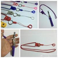 Красочные талреп палец кольцо силиконовые фиксированной O форма круг портативный кулон инновационный дизайн Ожерелье для EVOD EGO-T Vape Pen Kit