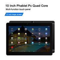 Quad Core 10 pouces Tablet Android 4.4 MTK6582 1G 16G 12G 1280 * 800 Écran tactile 2G GSM Phablet Tablettes bon marché Soutenir OTG WiFi