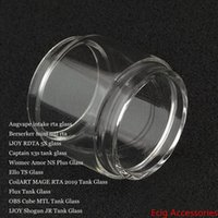 Жир шарика пузыря стеклянная трубка для впуска Берсерк Mini iJOY RDTA 5S Капитанской x3s Amor NS Plus Элло TS MAGE RTA 2019 Flux Cube MTL Shogun JR