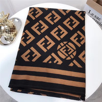 Classic letter style brown black autumn and winter wool warm...
