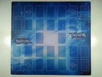 Yu-gi-oh! Dragons 2-joueurs Master Rule 4 Link Zones de liens personnalisés Playmat TCG Tapis CCG