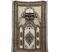 Envío gratis islámico musulmán manta de oración Salat Musallah Alfombra de oración Tapis Alfombra Tapete Banheiro islámica Praying Mat 70 * 110 cm SN3275