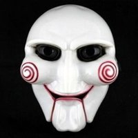 Halloween Party Cosplay Billy Jigsaw Saw Puppet Mask Masquer...