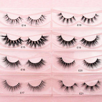 New Arrival Free Private Label 3D Mink Lashes Thick Light Fa...