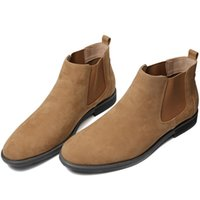 ZUSIGEL Uomini PU Leather Shoes Oxfords Casual mucca pelle scamosciata High End Slip-on caviglia della neve di moda Scarpe in pelle formato Stati Uniti 8-13