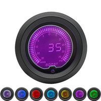 52mm Boost Turbo Gauge Psi LCD Digital 7 Pantalla a color con sensor