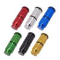 Neueste Cracker Aluminiumlegierung Flaschenöffner Pollen Presse Creme Whipper Zylindrische Form Dispenser Tragbare Rauchen Werkzeug
