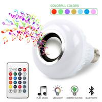 스마트 와이파이 전구 음악 플레이어 등으로 원격 제어 LED 컬러 전구 + APP