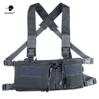 Tactical Chest Rig X Harness Vest Carrier Armor Army Rifle P...