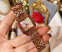 2020 Sıcak Satış Bayanlar Saatler 27 x 37 mm WSPN0006 WSPN0007 18k Rose Gold VK Kuvars Bayanlar Kadın watche
