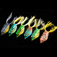 Hot! High Quality Soft Lures Fishing Lure Bait Tackle 5. 5cm ...