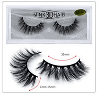 HOT 3D Mink Eyelashes Eye makeup Mink False lashes Soft Natu...