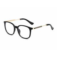جديد أزياء المرأة بصري إطار نظارات معدن الذهب عين القط نظارات واضح عدسات النظارات الشمسية OCCHIALI lentes هلالية دي سوليه